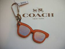 Coach Sunglasses Bag Charm Key Fob Key Chain F54920 MSRP $70 NWT