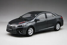 New in Boxed 1:18 1/18 Diecast Car Model TOYOTA Corolla 2014 Black