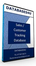 Sales & Customer Tracking  Database Software inc ability to print address labels