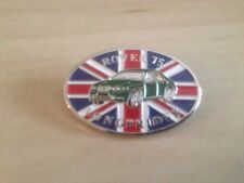 Rover 75 lapel badge celebrating the 75 being built at Longbridge