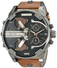 NEW Diesel Mr. Daddy 2.0 4 Time Zone Chronograph Quartz Men's Watch - DZ7332