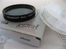 49mm Polarizer filter - in original plastic case + instructions & box - not Hoya