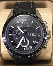 FOSSIL Decker Men's Chronograph Quartz Watch CH2573 10ATM 42mm