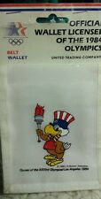 OLYMPICS 1984 Los Angeles Wallet ☆ Sam the Eagle ☆ Sealed ☆ New