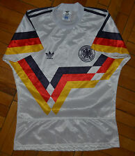 GERMANY 1990 WORLD CUP HOME FOOTBALL SHIRT JERSEY MAGLIA TRIKOT ADIDAS VINTAGE