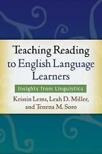 Teaching Reading to English Language Learners: Insights from Linguistics, Tenena