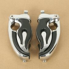 Flamin Switchblade Footpegs Male Mount Adapters For Harley Sportster Dyna 4411