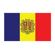 ANDORRA PYRENEES FRANCE SPAIN POLYESTER INTERNATIONAL COUNTRY FLAG 3 X 5 FEET