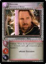 LOTR TCG 0P127 Aragorn Defender of Rohan Foil NM/MINT + FREE Fellowship Pack