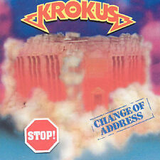 Change of Address by Krokus (CD, Apr-1995, Bmg/Arista)