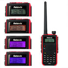 Retevis RT5 Walkie-Talkie UHF136-174+VHF400-520MHz 128CH 8W VOX Two Way FM Radio