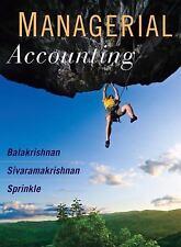 Managerial Accounting by Ramji Balakrishnan
