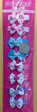 small girl hair clip pin bow Barrette TODDLER Dog 15