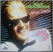 Max Headroom, Mega Dance, VG/VG+, 2 LP (6026)