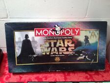 "MONOPOLY ""STAR WARS"" CLASSIC TRILOGY EDITION Parker Brothers board game COMPLETE"