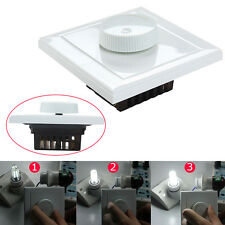 AC 220V Rotary Dimmer Wall Controller LED Light Switch For 5730/5050 LED Lamp