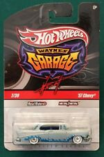 Hot Wheels - Wayne's Garage - '57 Chevy - Blue with Chase Signature