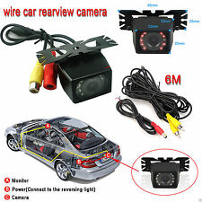 CMOS/CCD HD Waterproof Car Backup Rear View Camera Reverse Parking Camera Color