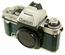 Canon f-1 f-1n AE CHROME CROMO pinregistered camera MRX Swiss SUPER RARE