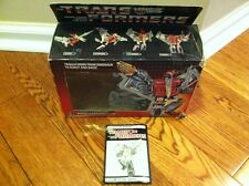 Transformers Original G1 Dinobot Swoop Box And Complete Instructions Only
