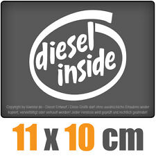 Diesel inside 15 x 14 cm JDM Decal Sticker Aufkleber Racing Die Cut