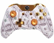 """Gold Money"" Xbox One Rapid FIre Modded Controller 35 MODS Snip"