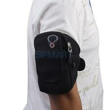 Blk Running Sport Gym Armband Case Bag Pouch for iPhone 6 Plus iPod Touch 4