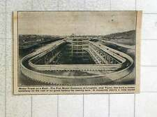 1923 Fiat Motor Company Lingotto Builds Speedway On Factory Roof