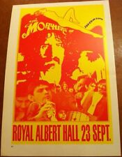 "Frank Zappa & The Mothers of Invention Vintage 2 Sided Vintage Poster 15x10"" R62"