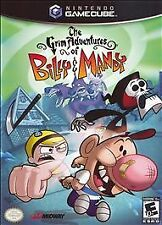 Grim Adventures of Billy & Mandy (Nintendo GameCube, 2006) COMPLETE GAME BOX
