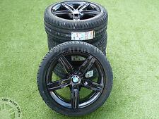 GENUINE BMW 1 SERIES F20/F21 379 M SPORT BLACK EDITION 17INCH ALLOY WHEELS+TYRES