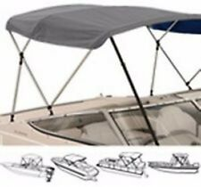 "3 Bow Medium Profile Bimini Tops for boats Fits 72""L X 46""H X 91 "" to 96 "" Wide"