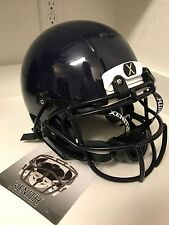 XENITH X2E FOOTBALL HELMET CHIN STRAP FACEMASK DARK BLUE YOUTH SMALL  NEW NWT