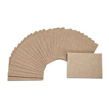 "25 Kraft Note Cards: 2.5"" x 3.5"" Artist Trading Card-size Kraft Paper Card Stock"
