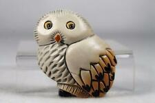 Rinconada Classic Beautiful Adult 'Snowy Owl Magnet' #M36 Retired 1999 NEW