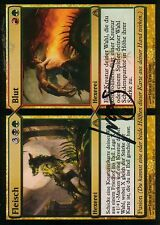 Carne // sangre signed | bollos // Blood | nm | Dragon 's Maze | ger | Magic mtg