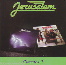JERUSALEM - CLASSICS 2 (WARRIOR & CAN'T STOP US NOW) (*Used-CD, 1998) 2 on 1