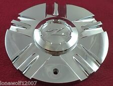 Zinik Wheels Chrome Custom Wheel Center Cap # MAZOTTI / SI-CAP-Z151 (1)