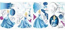Cendrillon autocollants planches de 31 stickers Glamour décoration murale 89130