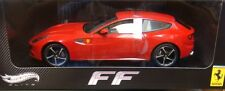 MATTEL HOT WHEELS FERRARI FF LIMITED EDITION 1/18 RED W1105