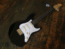 Dean Avalanche J 3/4 Metallic Black Electric Strat Guitar Fully Set Up & Tuned