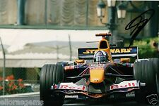 "F1 Formula One Driver David Coulthard Hand Signed Photo 12x8"" Autograph AD"