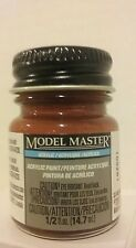 Testors Model Master Acrylic paint 4675, Rust.