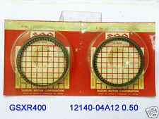 Suzuki GSXR400 Piston Ring 0.50 x2 NOS GSX-R400 PISTON RINGS SET 12140-04A12 GSX
