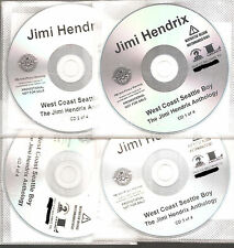"JIMI HENDRIX ""WEST COAST SEATTLE BOY"" US Promo CD Set"