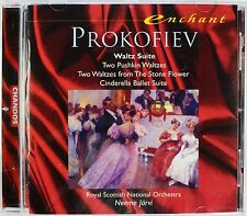 Prokofiev - Waltz Suite, Cinderella, Jarvi / Royal Scottish N.O., New CD, Rare