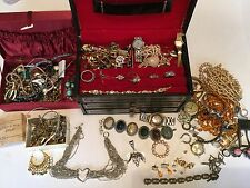 Antique Estate Junk Drawer Jewelry Lot
