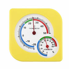 Indoor Outdoor Wet Hygrometer Humidity Thermometer Temp Temperature Meter DW