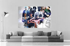 LEGENDARY RAPPER GANGSTA EMINEM 2PAC Wall Art Poster Grand format A0 Large Print
