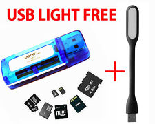 100% Original All in One Multi Card Reader Branded USB 2.0 compact Size Ubon